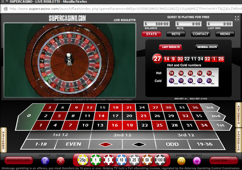 supercasino flash client