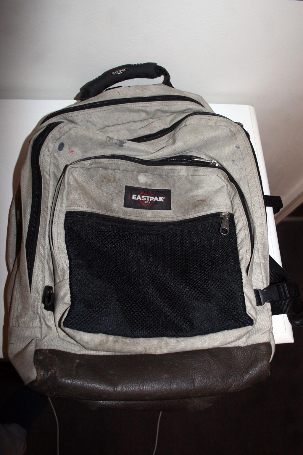 eastpak bag beige